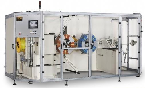 立式管子收卷和捆扎功能一体机