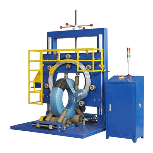 Tire winding packaging machine