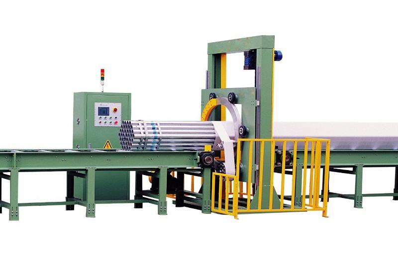 管材水平缠绕包装机