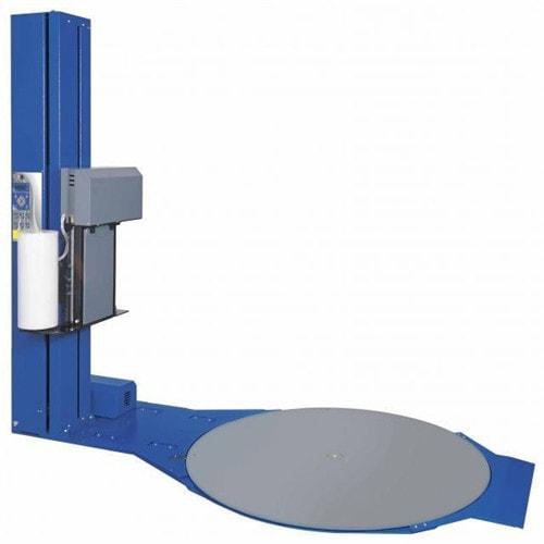 Semi automatic tray winding packaging machine